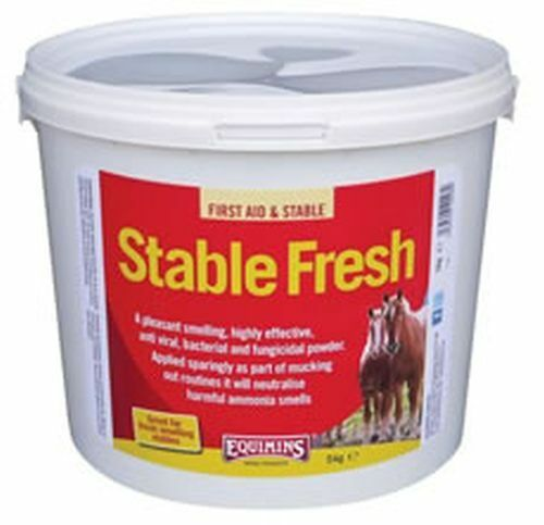 EQUIMINS STABLE FRESH POWDER DISINFECTANT - 5 KG TUB - EQS1000