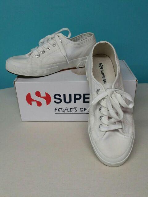 Damen Superga 2750 Cotu W Sneaker grau