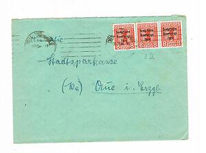 Sbz Auchinleck des MiNr. 202 A sur Lettre Chemnitz après Halle avec plaques erreur IX-afficher le titre d`origine c7cdFpTI-07165121-231110446