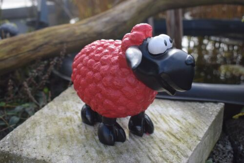 Deko Figur Schaf Molly sitzend oder stehend Gartenfigur Schafe Böcke Lämmer