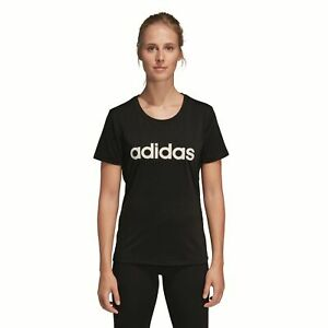 Details zu adidas Performance Damen Sport Fitness T Shirt D2M SOLID schwarz
