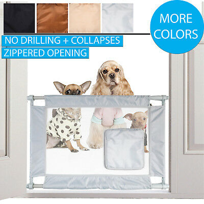 Pet Supplies Baby Safety & Health Persevering Pet Life Porta-gate Travel Collapsible And Adjustable Folding Pet Cat Dog Gate To Be Highly Praised And Appreciated By The Consuming Public