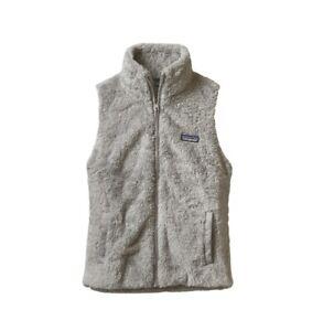 Patagonia-Los-Gatos-Gray-Fleece-Vest-Woman-039-s-Large