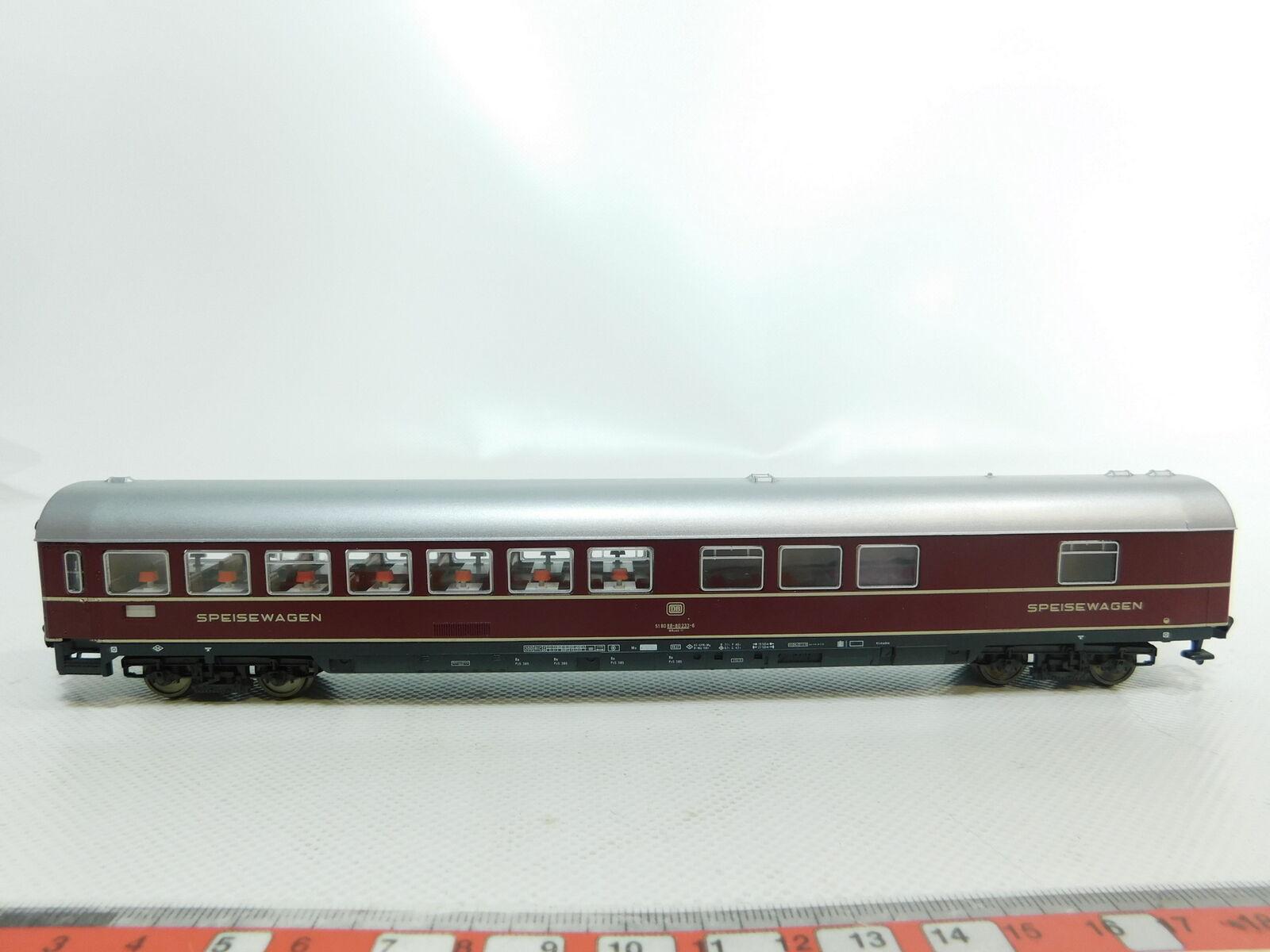 Bi539-0,5 Fleischmann H0 DC 5105 Buffet Car 88-80 233   wrümh 132 dB,Very Good