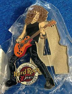 Belfast-Slash-Armes-N-039-Roses-Musicien-un-Lettre-Series-Puzzle-Hard-Rock-Cafe-Pin