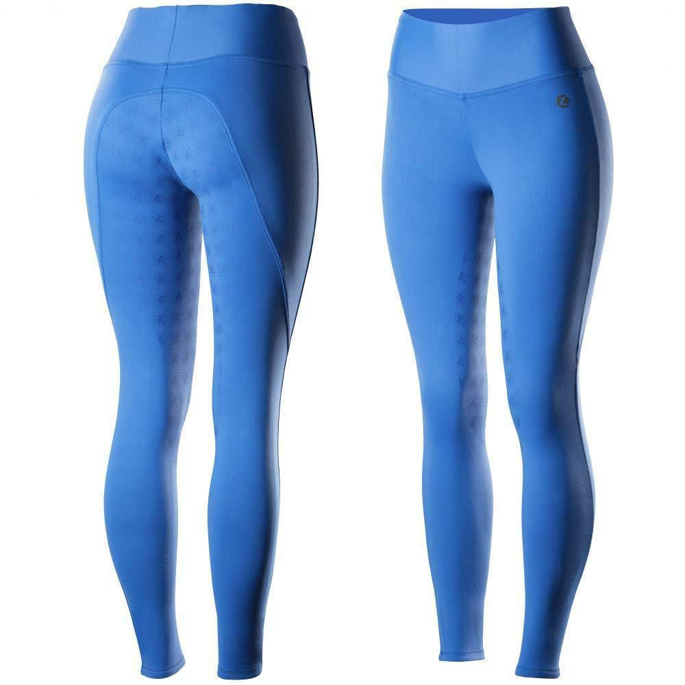 HORZE Juliet Womens Hyper Flex Riding Tights with Silicone Full  Seat - bluee  brands online cheap sale