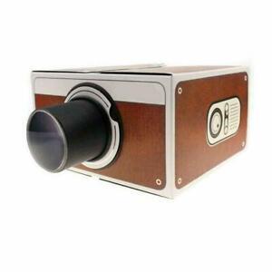 DIY Smartphone Mobile Phone Mini Projector Small Home ...
