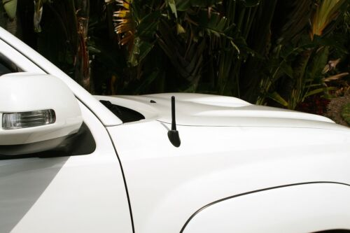 "2007-2017 Jeep Compass **SHORT**  4/"" BLACK ALUMINUM ANTENNA MAST FITS"