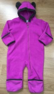 d7a96dc36c6a Columbia Baby Snowsuit Bunting Size 12-18 Months Teddy Bear Ears ...