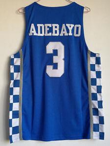 b5edf4ae73b Image is loading Bam-Adebayo-Jersey-Kentucky-Wildcats-Blue-White-Sewn-