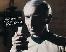 OFFICIAL WEBSITE Morgan Woodward STAR TREK (1968) 8x10 AUTOGRAPHED