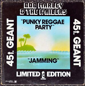 Maxi-45t-Bob-Marley-amp-The-Wailers-Punky-Reggae-Party-jamming