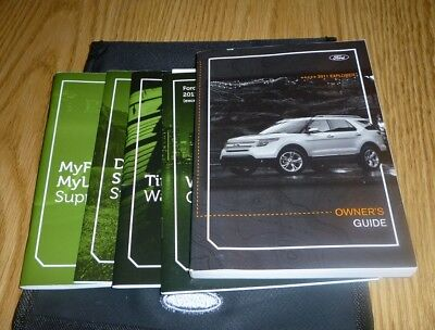 ford explorer owners manual set guide  wcase xlt