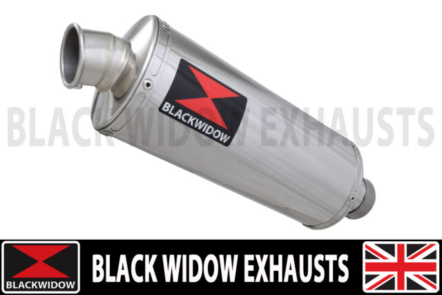 ZZR400 ZZR600 4-1 Exhaust Silencer Conversion Kit 300mm Oval Stainless 300SS