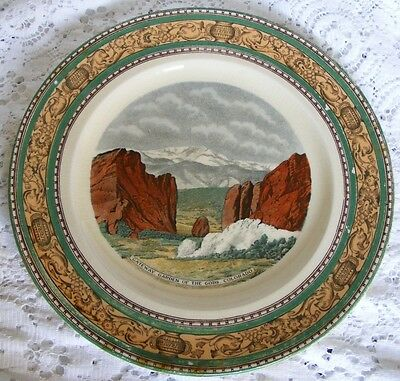 Adams  Pikes  Peak  Region Picture Plate Of  Gateway Garden of The Gods Colorado