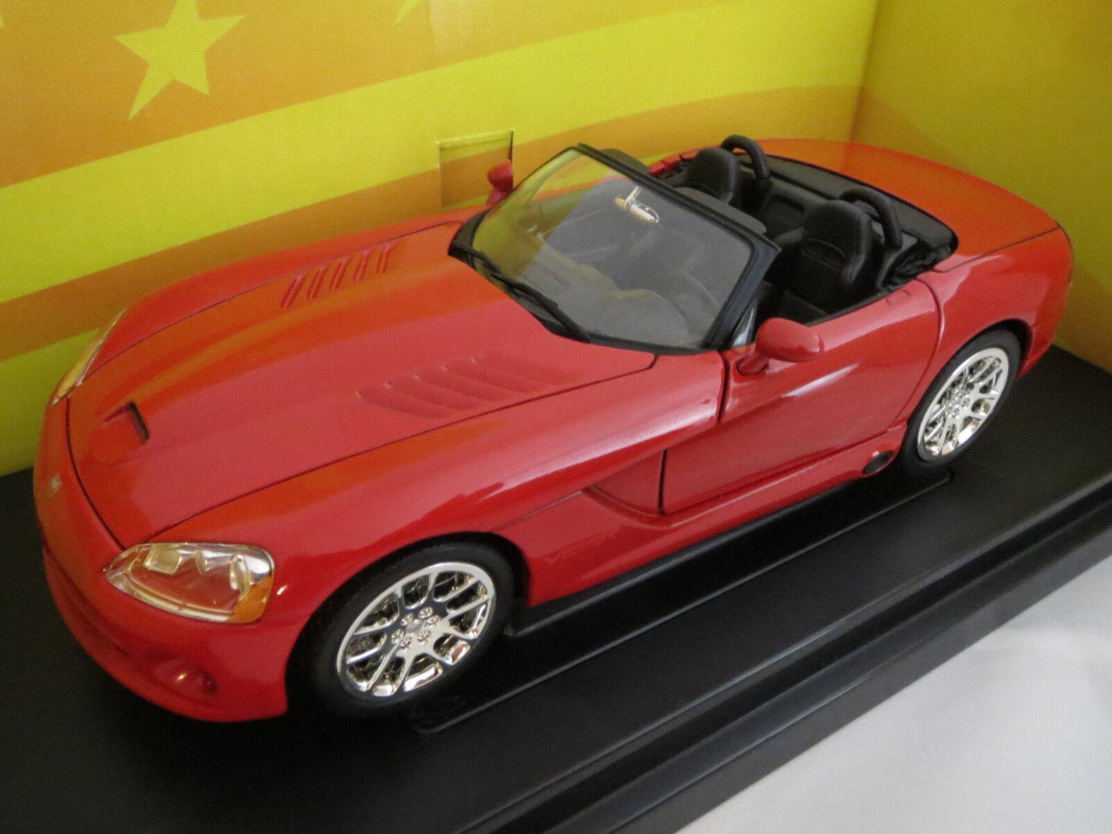 Rar  ertl American muscle Dodge Viper srt-10 en 1 18, original muy raras