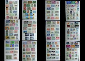 Great-Stamp-Collection-From-Greece-amp-The-United-States-Free-Shipping-Worldwide