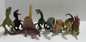 Dinosaur-Toys-Lot-Of-9