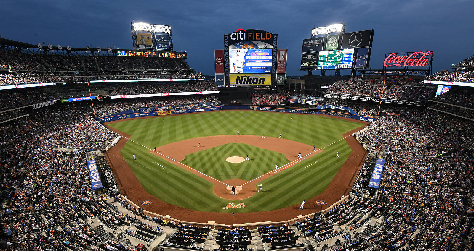 San Francisco Giants at New York Mets