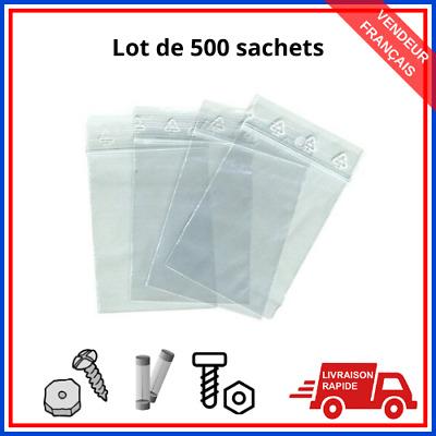 100 Pièce Pression Fermeture SACHETS FERMETURE RAPIDE Sachet Sac en plastique 20x30-40cm