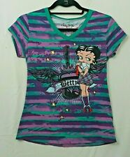 """/""""Betty Babe!/"""" Betty Boop Surfing Cover Up Tee Shirt One Size fits most C-9087"""