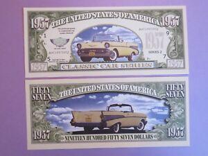 1957 CHEVROLET Classic USA Dream Car Series ~ $1,000,000 One Million Dollar Bill