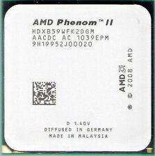AMD Phenom II X2 B59 CPU 3.4GHz Unlockable to X4 HDXB59WFK2DGM AM3 AM2 AM3 565