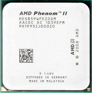 AMD-Phenom-II-X2-B59-CPU-3-4GHz-HDXB59WFK2DGM-AM3-AM2-AM3-565