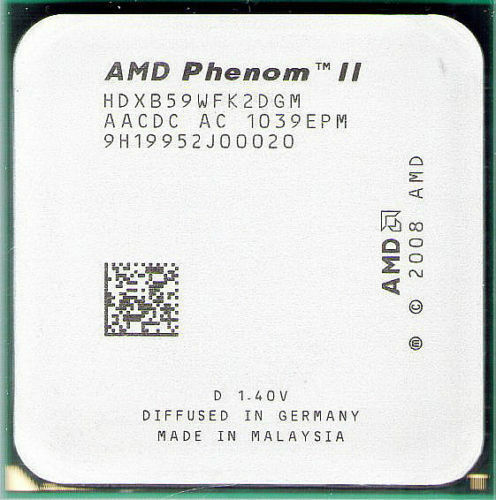Amd Phenom Ii X2 B59 Cpu 3 4ghz Hdxb59wfk2dgm Am3 Am2 Am3 565 For Sale Online