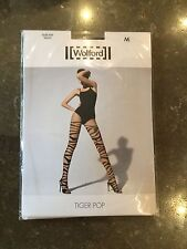 STYLISH WOLFORD TIGER POP TIGHTS SIZE M NWT