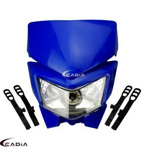 Enduro Trial Dirt Bike Headlight Front Lamp For Yamaha YZF