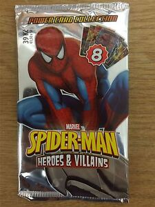 Spiderman-Heroes-And-Villains-Factory-Sealed-Packet-x1