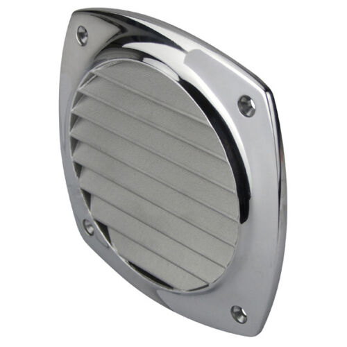 HD 316g Polished SS Wall Vent Vent 102mm Stainless Steel Surface Mounting Vent