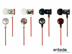 Monster-iBeats-amp-urBeats-by-Dr-Dre-In-Ear-Headset-Kopfhoerer-3-5mm-mit-Mikrofon