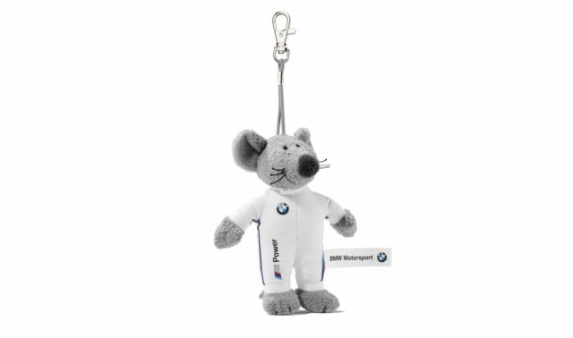 Genuine BMW Motorsport Mouse Victor Key Ring Pendant 80272285877 BMW Fan Gift