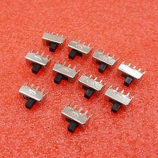 100Pcs SS12F44G4 3 Pin Dip 2 Position Spdt 1P2T Vertical Slide Switch uc