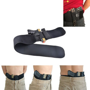 Ultimate Belly Band Concealed Carry Gun Pistol Holster Fits all Pistols Glock