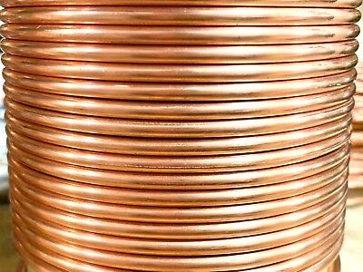 5 FT 12 Gauge AWG Soft Annealed Bare Copper Building Ground Wire Made In USA
