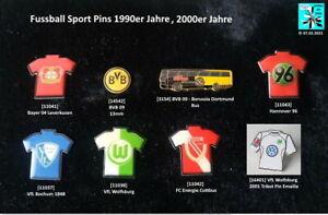 Fussball Sport Abzeichen Pins 1990er/2000er Jahre AUSSUCHEN