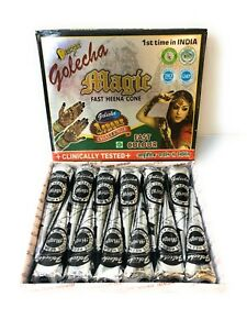 FREE-SHIP-Premium-Black-Henna-Cones-Temporary-Tattoo-Ink-CHOOSE-QTY