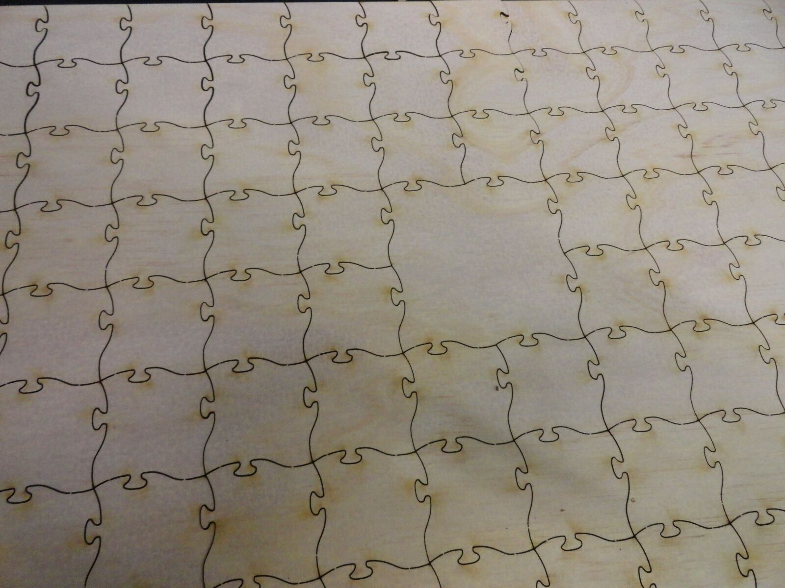 Guest book With Sign Wood - Laser Cut Wooden Guestbook jigsaw Puzzle 96 piece