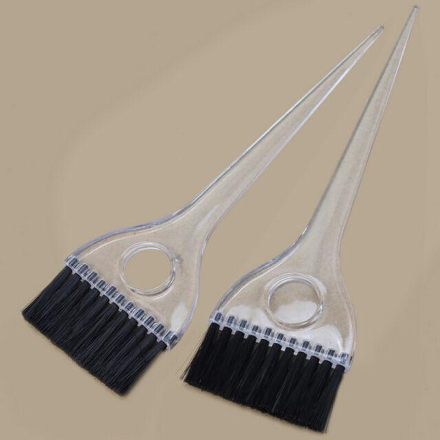 Professional Salon Brush Hair Bleach Tint Perm Applicator Dye Coloring Comb 2 x