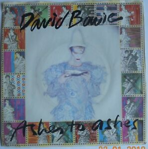 Details about David Bowie / Ashes To Ashes / 7 Inch Vinyl / Iggy Pop
