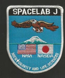SPACELAB-J-NASA-NASDA-3-034-PATCH