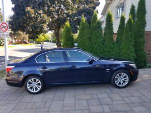 RARE 2009 BMW 535i manuel 6 vit. Super équipé impeccable 300HP