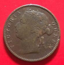 Straits Victoria 1/4 cent 1901