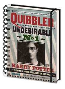 Harry Potter (Quibbler) A5 Wiro Notebook * OFFICIAL LICENSED PRODUCT *
