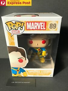 MARVEL-X-MEN-UNMASKED-CYCLOPS-FUNKO-POP-VINYL-BOBBLE-HEAD-89-VAULTED-NEW