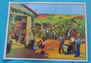 Decoration-Murale-Set-de-Table-Vendanges-Bourgogne-St-Amour-Bordelais-Sauterne