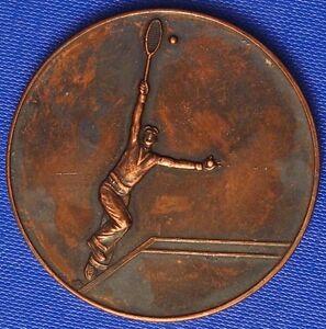 1948 ART DECO TENNIS MEISTERSCHAFT MEDAILLE 50mm SIGN. FONYÓ - Wien, Österreich - 1948 ART DECO TENNIS MEISTERSCHAFT MEDAILLE 50mm SIGN. FONYÓ - Wien, Österreich